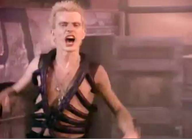 Billy Idol - Dancing With Myself - Official Music Video
