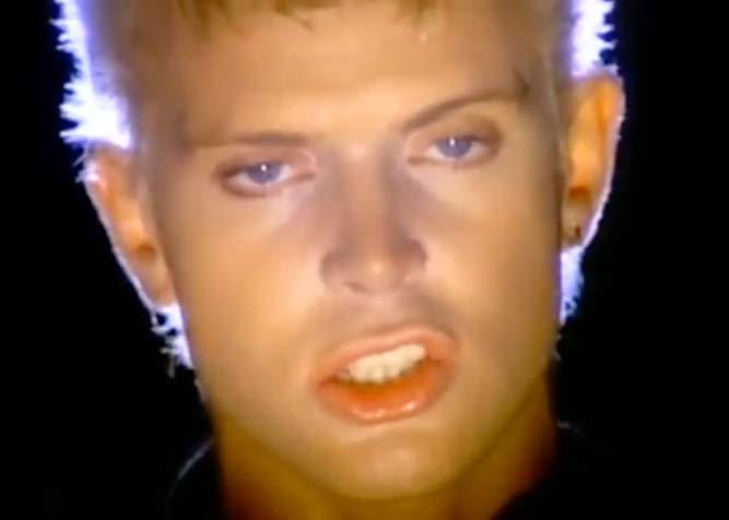 Billy Idol - Eyes Without A Face - Official Music Video