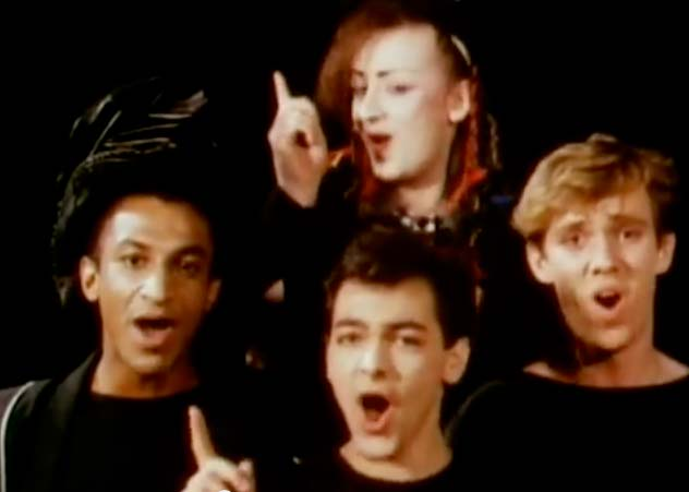 Culture Club - I'll Tumble 4 Ya - Official Music Video