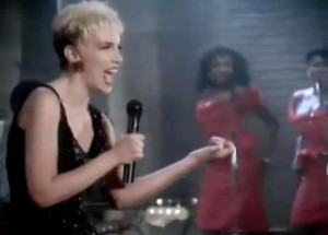 Eurythmics - Would I Lie To You? - Official Music Video