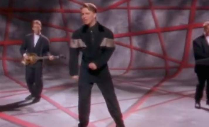 Johnny Hates Jazz - I Don't Want To Be A Hero - Official Music Video