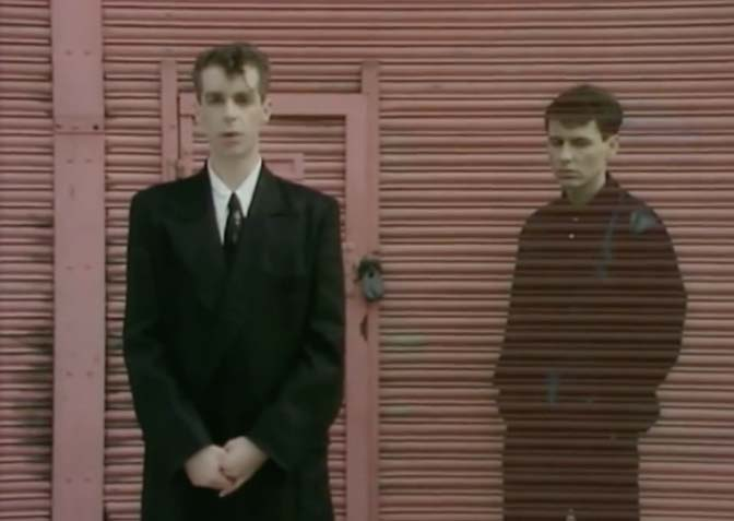 Pet Shop Boys - West End Girls - Official Music Video