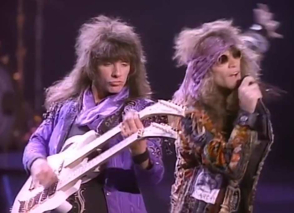 Bon Jovi - Lay Your Hands On Me - Official Music Video