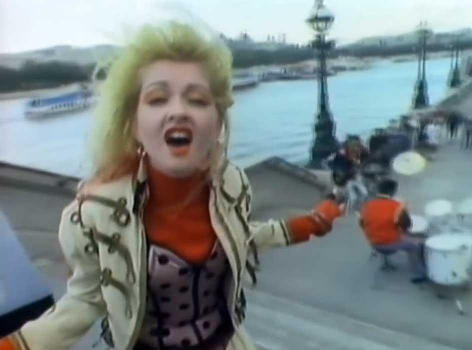 Cyndi Lauper - Change Of Heart - Official Music Video