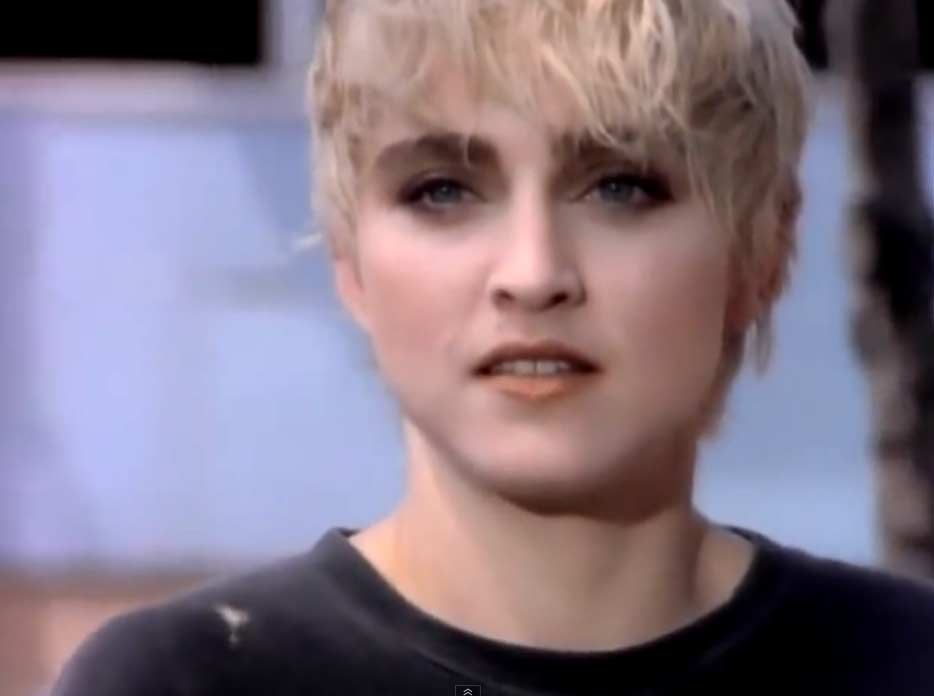 Madonna - Papa Don't Preach - Official Music Video