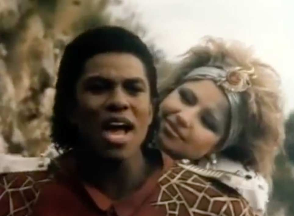 Pia Zadora & Jermaine Jackson - When The Rain Begins To Fall