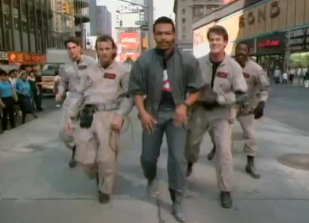 Ray Parker Jr. - Ghostbusters - Official Music Video