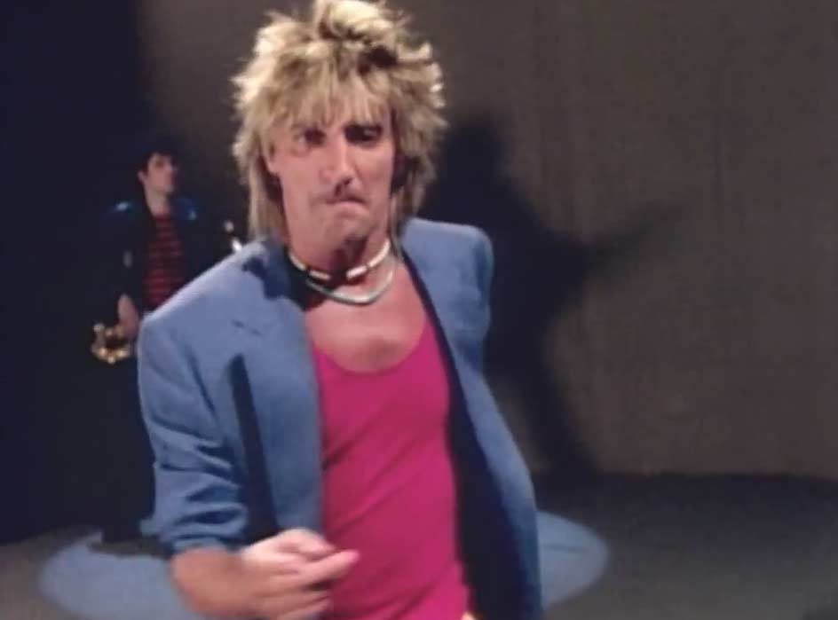 Rod Stewart - Baby Jane - Official Music Video