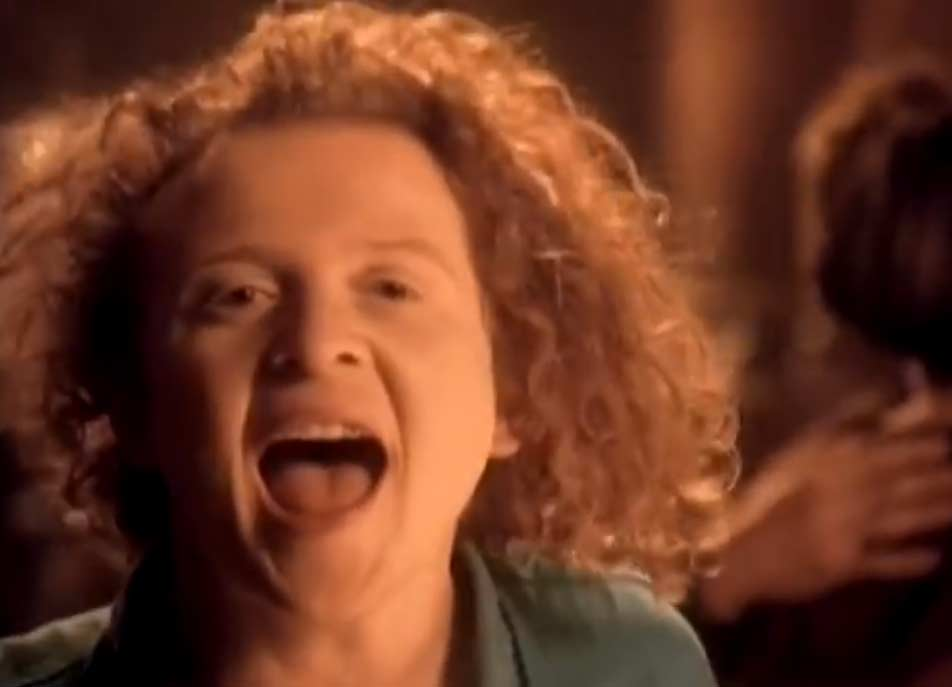 Simply Red - It's Only Love - Official Music Video