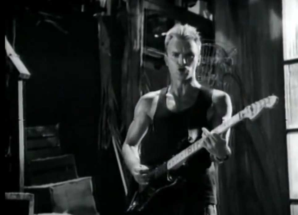 Sting - Fortress Around Your Heart - Official Music Video