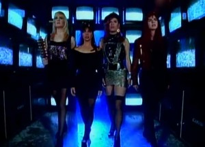 The Bangles - Hazy Shade of Winter - Official Music Video.