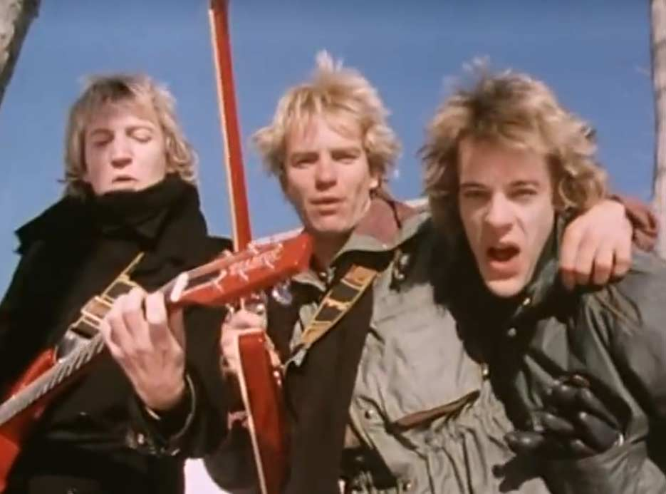 The Police - De Do Do Do, De Da Da Da - Official Music Video