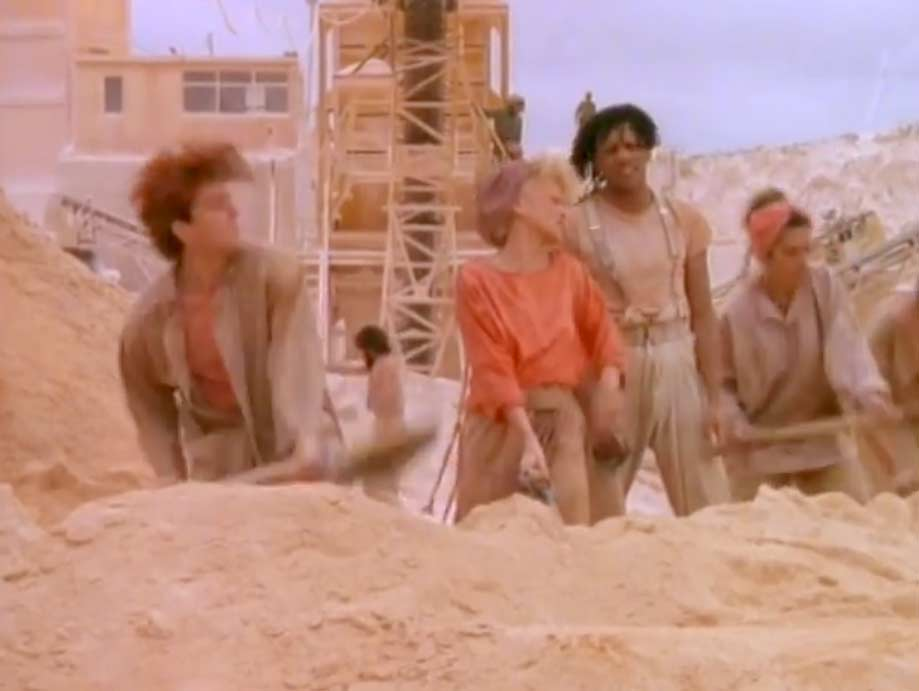 Thompson Twins - You Take Me Up - Official Music Video