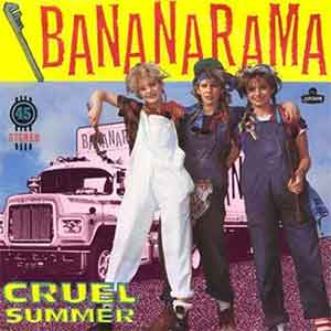 Bananarama - Cruel Summer - Single Cover
