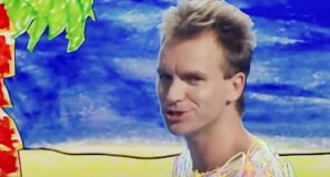 Sting - Love Is The Seventh Wave - Official Music Video