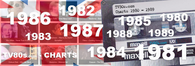 Music Charts UK - 50 best selling single