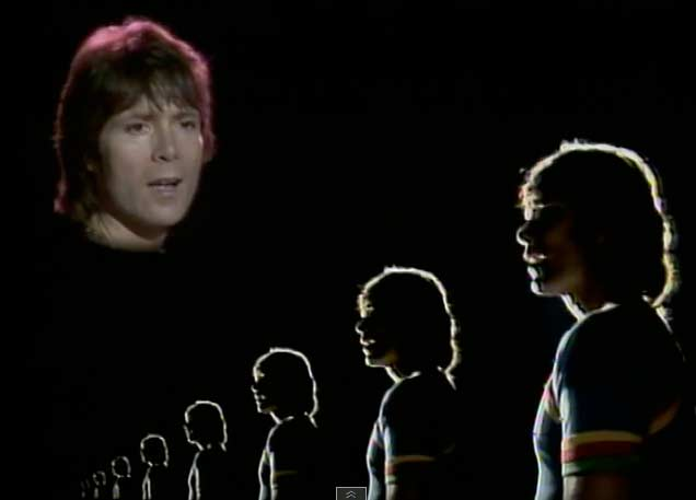 Cliff Richard - We Don't Talk Anymore - Official Music Video