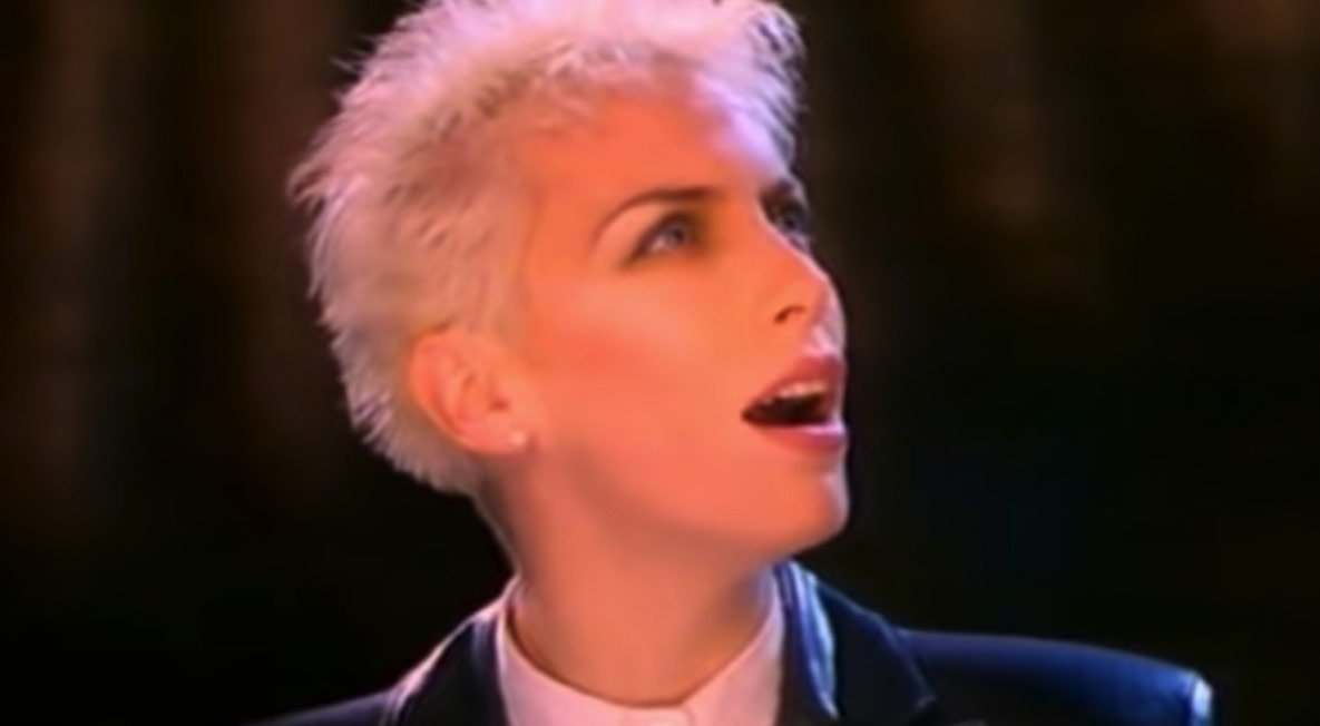 Eurythmics When Tomorrow Comes Official Music Video