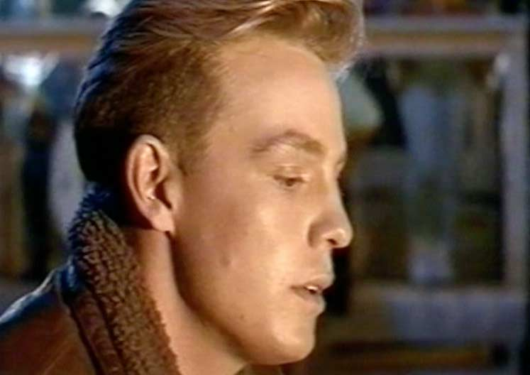 Jason Donovan ‎- Sealed With A Kiss - Official Music Video