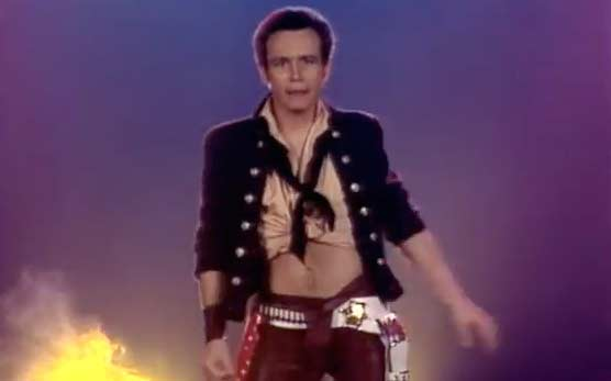 Adam Ant - Friend Or Foe - Official Music Video
