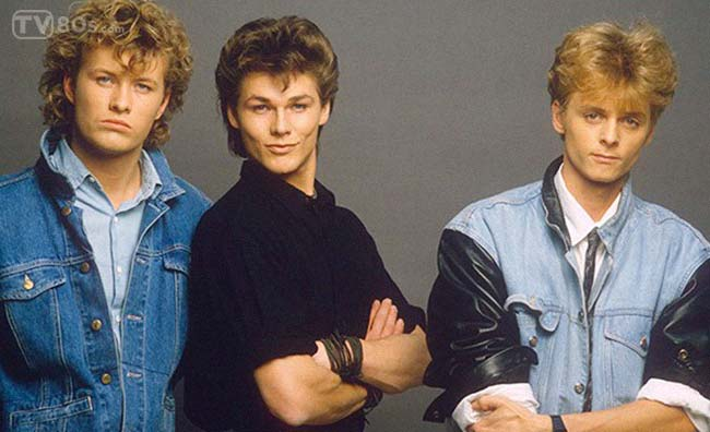 Magne Furuholmen, Morten Harket and Paul Waaktaar
