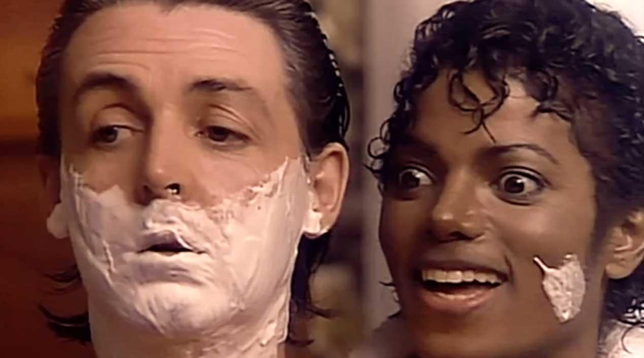 Paul McCartney & Michael Jackson - Say Say Say - Official Music Video