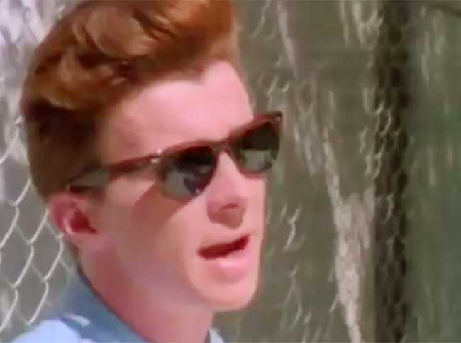 Rick Astley - Never Gonna Give You Up - Official Music Video