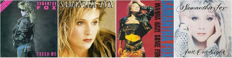 Samantha Fox Discography - 80s Music - Sound of music of stars of 80's: Samantha Fox, Kim Wilde, Ultravox, Visage, Depeche Mode, Thompson Twins etc