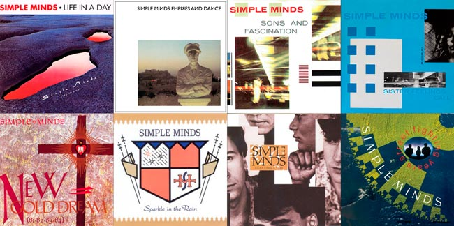 Simple Minds - 80s discography