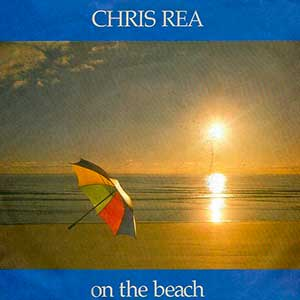 Chris Rea On The Beach Single Cover