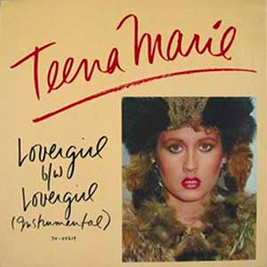 Teena Marie Lovergirl Official Single Cover