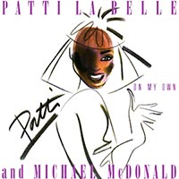 Patti LaBelle Michael McDonald On My Own Single Cover