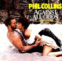 Phil Collins Against All Odds Take A Look At Me Now Single Cover