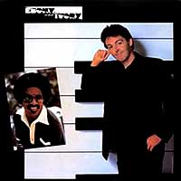 Stevie Wonder Paul McCartney Ebony and Ivory Single Cover