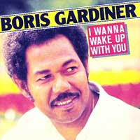 Boris Gardiner - I Want To Wake Up With You - Single Cover