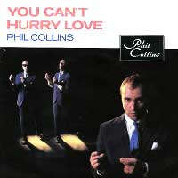 Phil Collins - You Can't Hurry Love - Single Cover