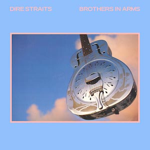 Dire Straits Best selling album cover brothers in arms