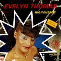 Evelyn Thomas - High Energy - Single Cover