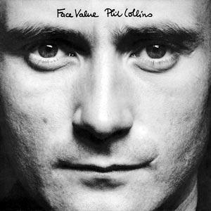 Phil Collins Face Value Album Cover