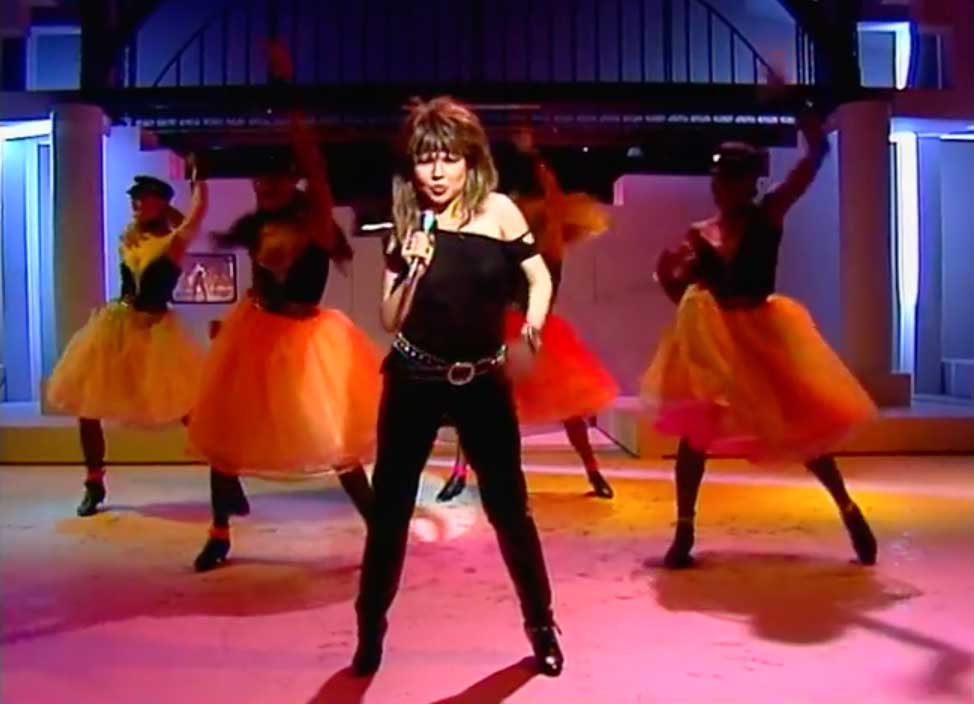 ia Zadora - Let's Dance Tonight - music video