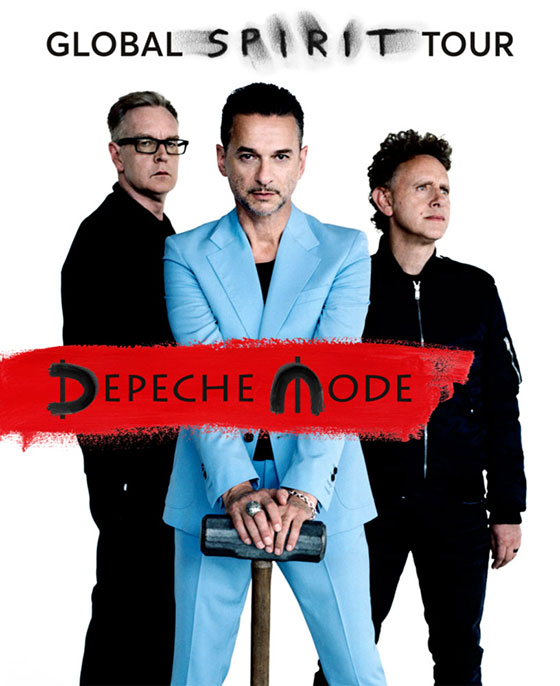 Depeche Mode Spirit album tour 2017