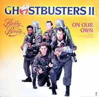 Bobby Brown - On Our Own - Single Cover - Ghostbusters 2 Soundtrack