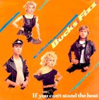 Bucks Fizz - If You Can't Stand The Heat - Single Cover