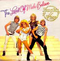 Bucks Fizz - The Land of Make Believe - Single Cover