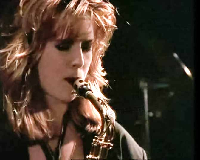 David A. Stewart & Candy Dulfer - Lily Was Here - Official Music Video
