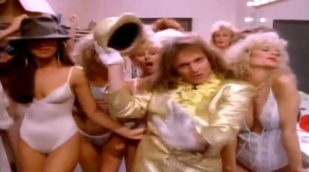 David Lee Roth - Just A Gigolo / I Ain't Got Nobody - Official Music Video