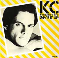 KC and the Sunshine Band - Give It Up - Single Cover