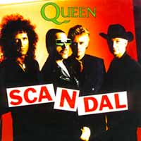 Queen - Scandal - Single Cover