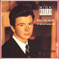 Rick Astley - When I Fall In Love - Single Cover