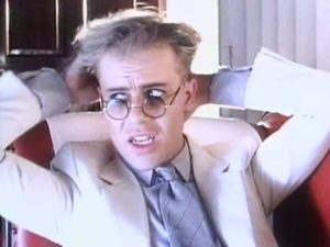 Thomas Dolby - She Blinded Me With Science - Official Music Video